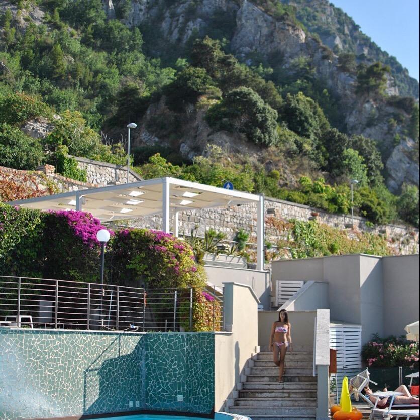 Weekend in costiera sorrentina al towers hotel sabiae for Piscinas vacias laura ferrero