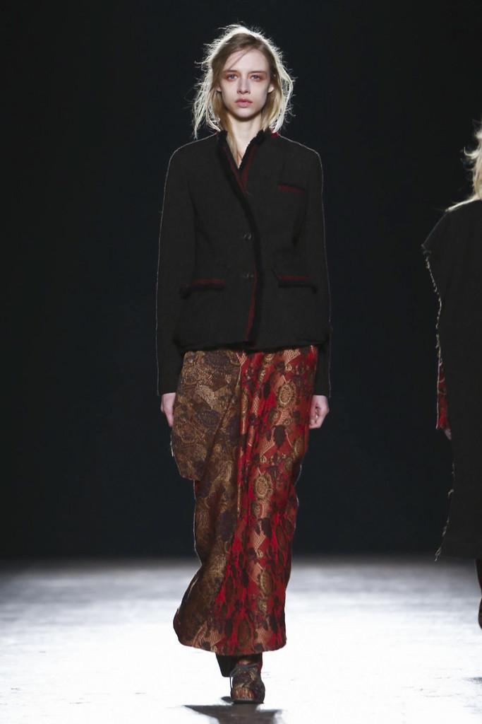 Uma Wang Fashion Show, Ready To Wear Collection Fall Winter 2016 in Milan